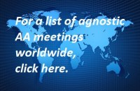Worlwide agnostic meetings in AA