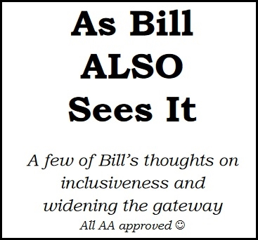 As Bill ALSO Sees It