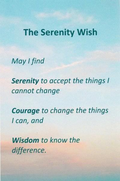 The Serenity Wish